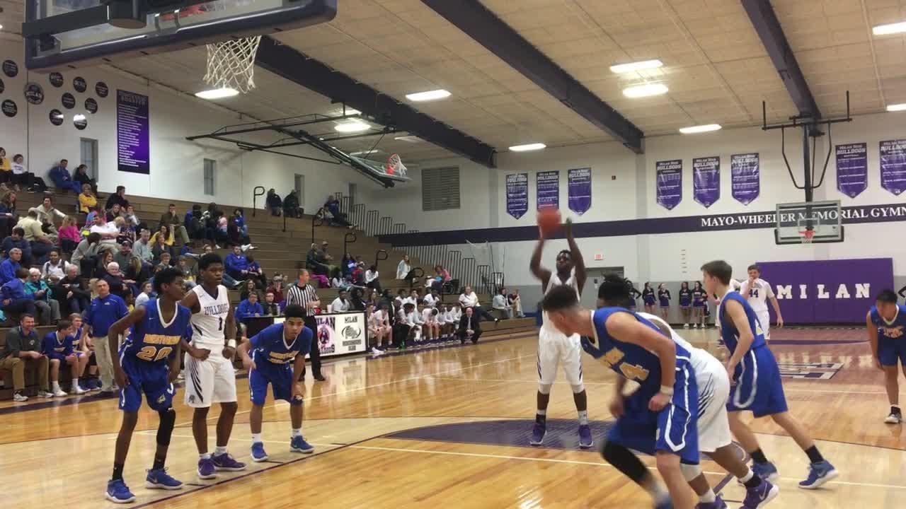 Basketball highlights: Westview boys 64, Milan 57