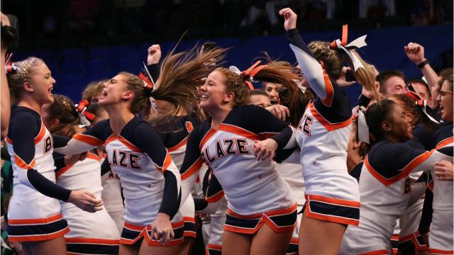 Blackman High School garners small co-ed division national title at National Cheerleading Championship