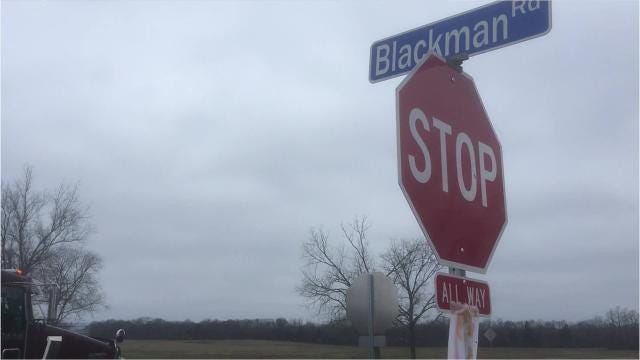 Blackman Park will open in three years off Blackman, Burnt Knob and Vaughn roads, Veteran Parkway and Interstate 840, officials report.