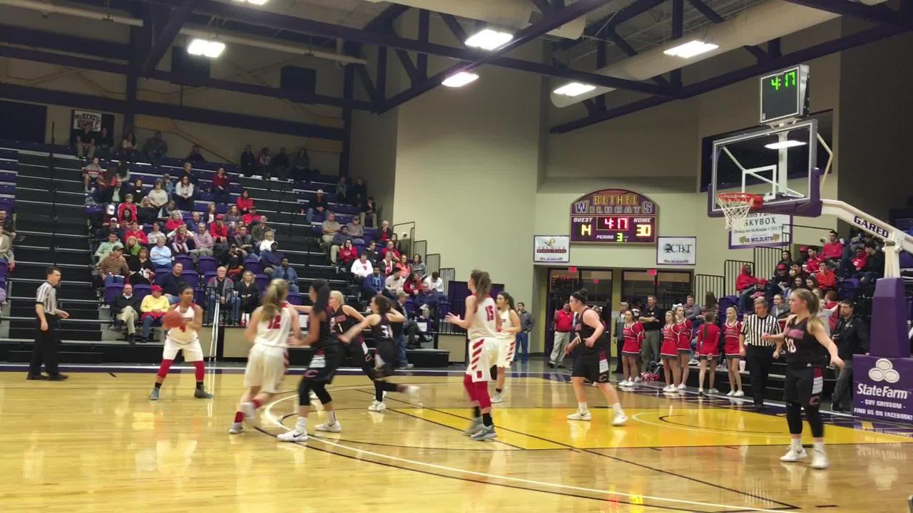 Basketball highlights: McKenzie girls 55, Clarksburg 40
