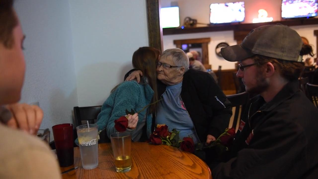"Known as ""the rose lady"" in the Jackson nightlife scene, Brenda Scott sells roses to young couples and bar patrons every Friday and Saturday night."