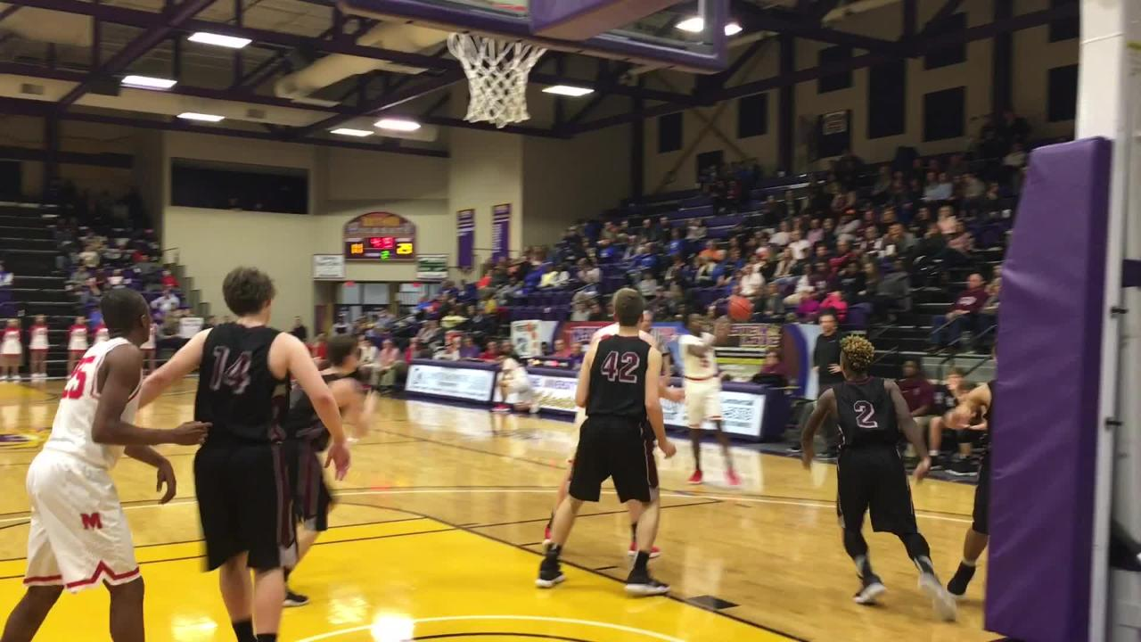 McKenzie boys advanced to the District 11-A championship game with a 70-48 victory over West Carroll on Tuesday.