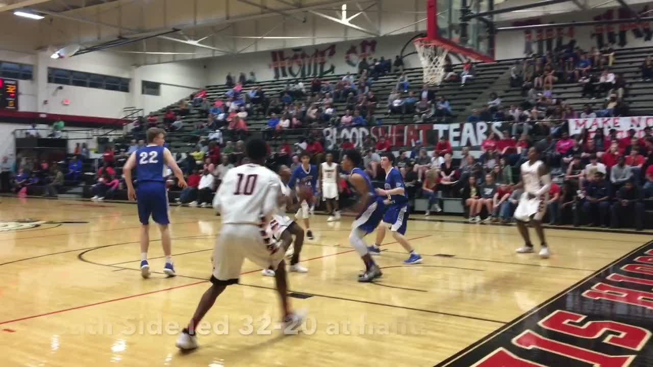 Highlights from South Side's 79-52 win over Chester County in the District 14-AA Tournament on Feb. 15, 2018.