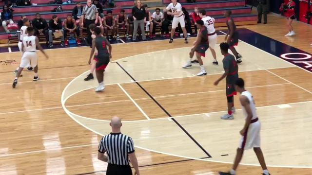 Highlights of Riverdale's 64-56 win over Stewarts Creek in the 7-AAA quarterfinals Friday.