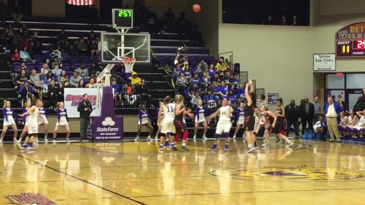 Highlights from Huntingdon's 66-45 win over McKenzie in the District 11-A championship game on Feb. 16, 2018.