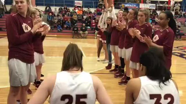 Highlights of Riverdale's 59-32 win over Oakland in the 7-AAA semifinals.