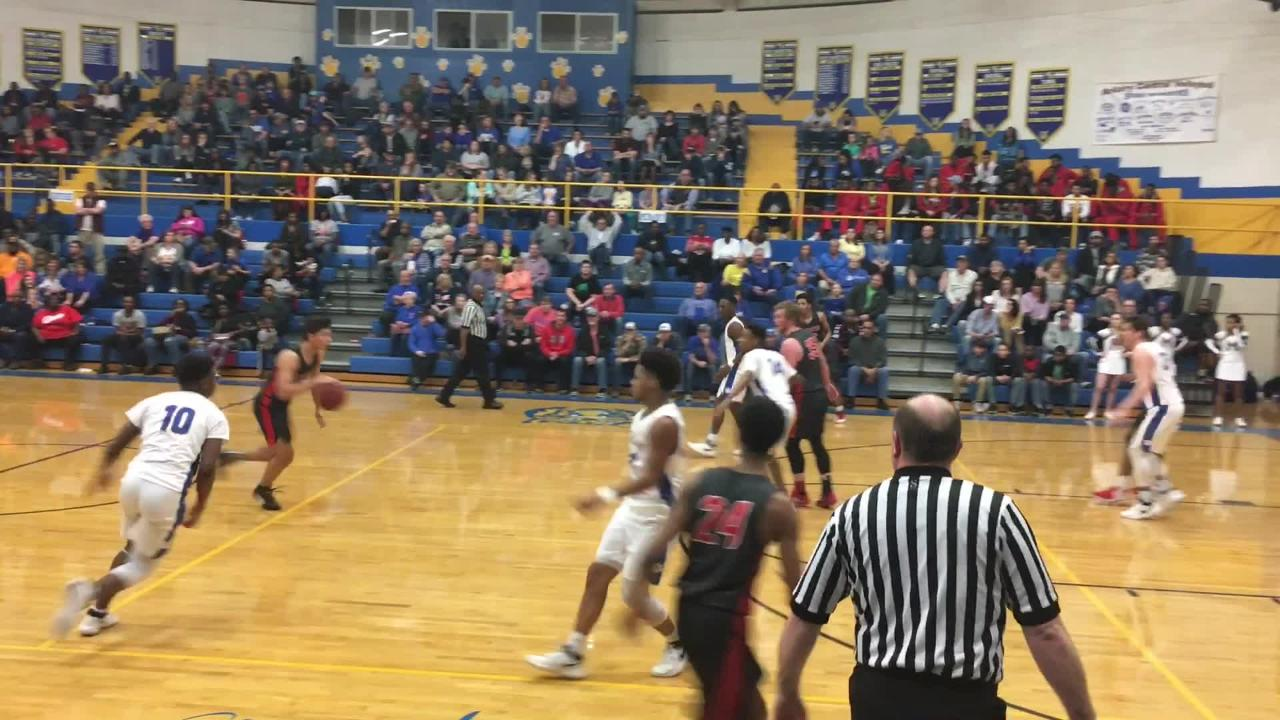McNairy Central advanced to the District 14-AA championship game with a 72-65 overtime victory over Lexington on Feb. 17.