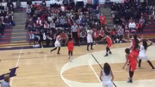 Highlights of Stewarts Creek's 43-42 win over Blackman in the 7-AAA girls semifinals.