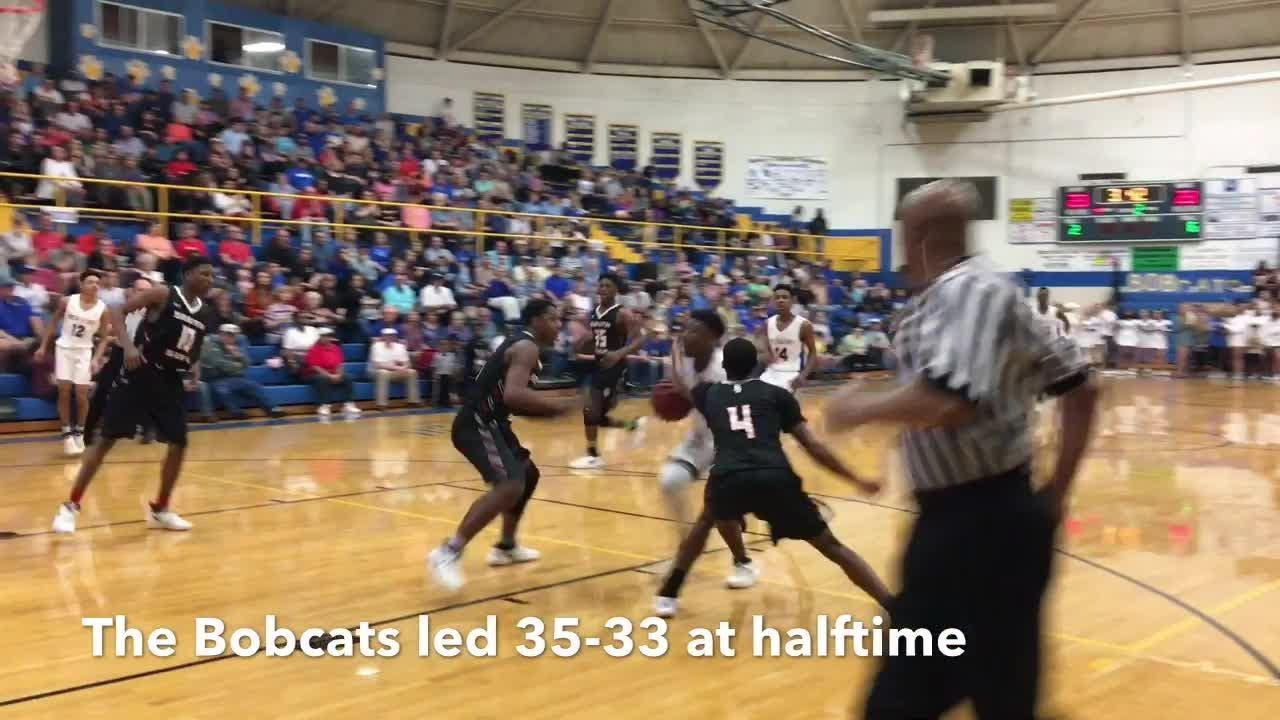 Highlights from the District 14-AA title game where South Side defeated McNairy Central 74-67 on Feb. 20, 2018.