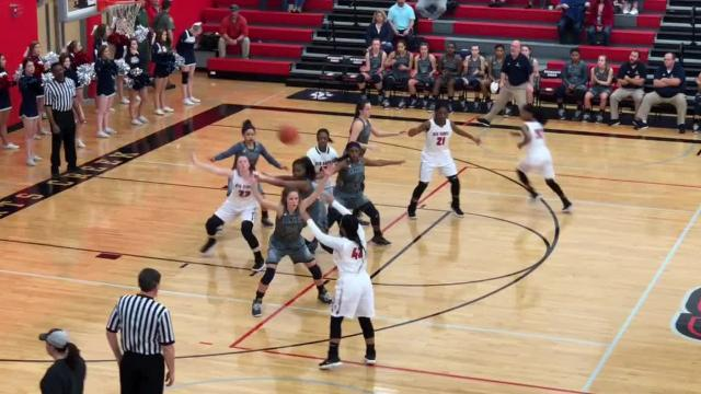 Highlights of Stewarts Creek's 55-48 win over Franklin County in the Region 4-AAA quarterfinals.