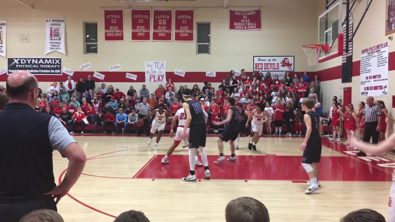 Basketball highlights: Bradford boys 55, TCA 53