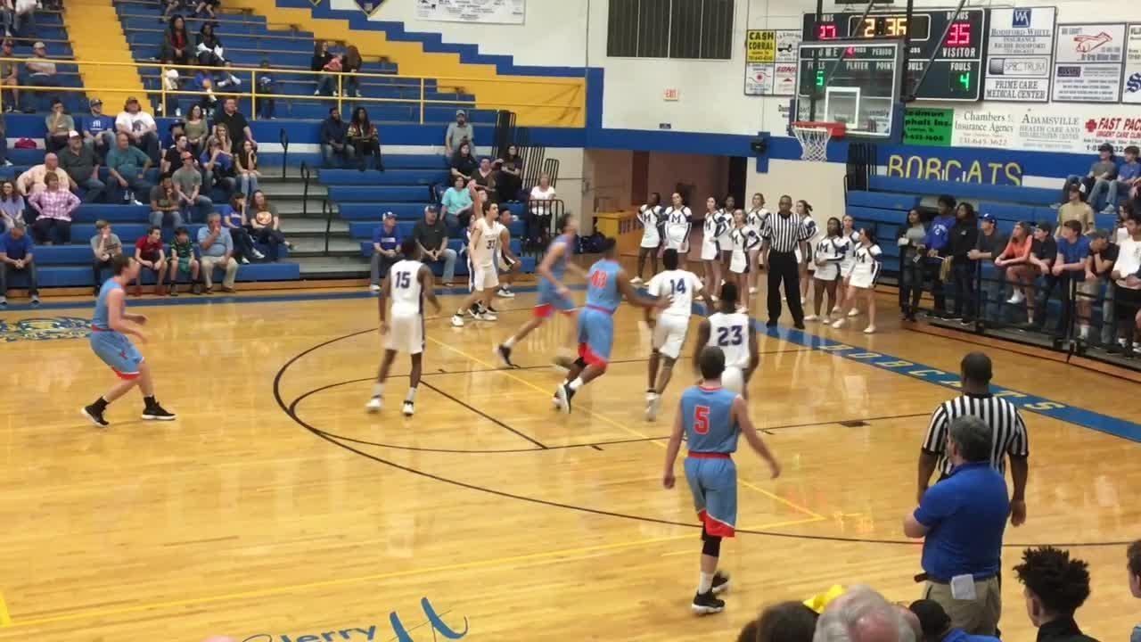 Basketball highlights: South Gibson boys 75, McNairy 72