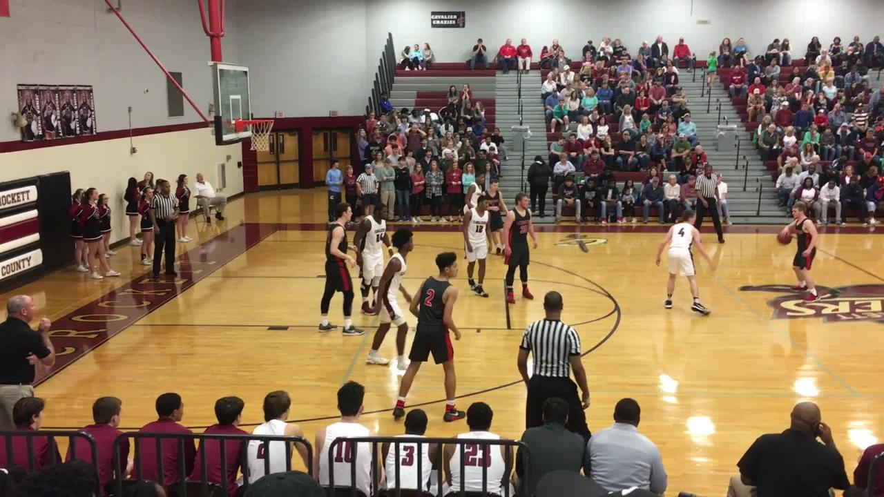 Basketball highlights: Crockett County boys 62, Lexington 31