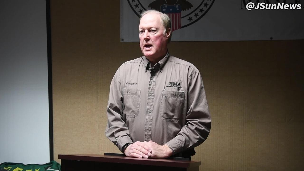 Jackson-Madison County EMA Director Marty Clements talks about the importance of Severe Weather Awareness Week.