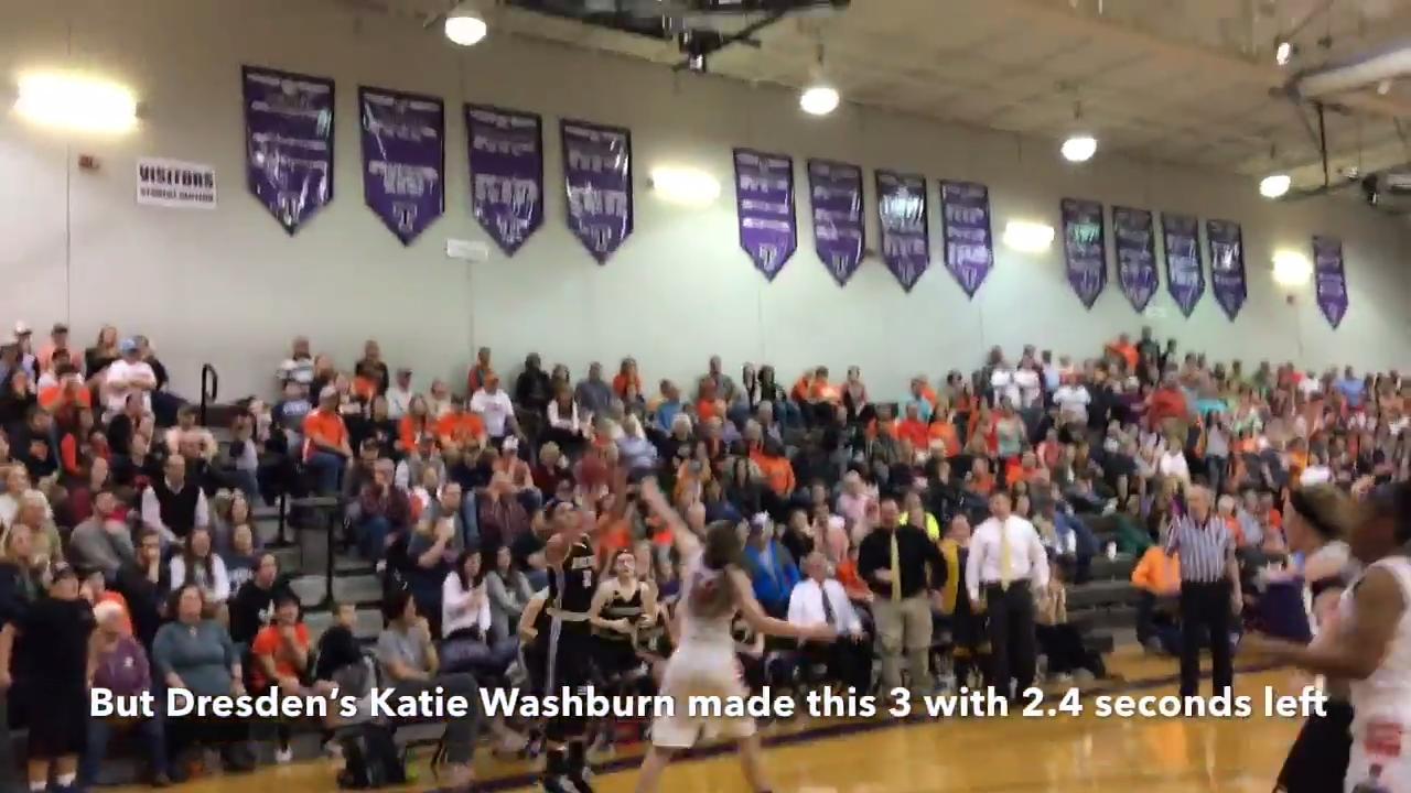 Basketball highlights: Dresden girls 30, Gleason 29