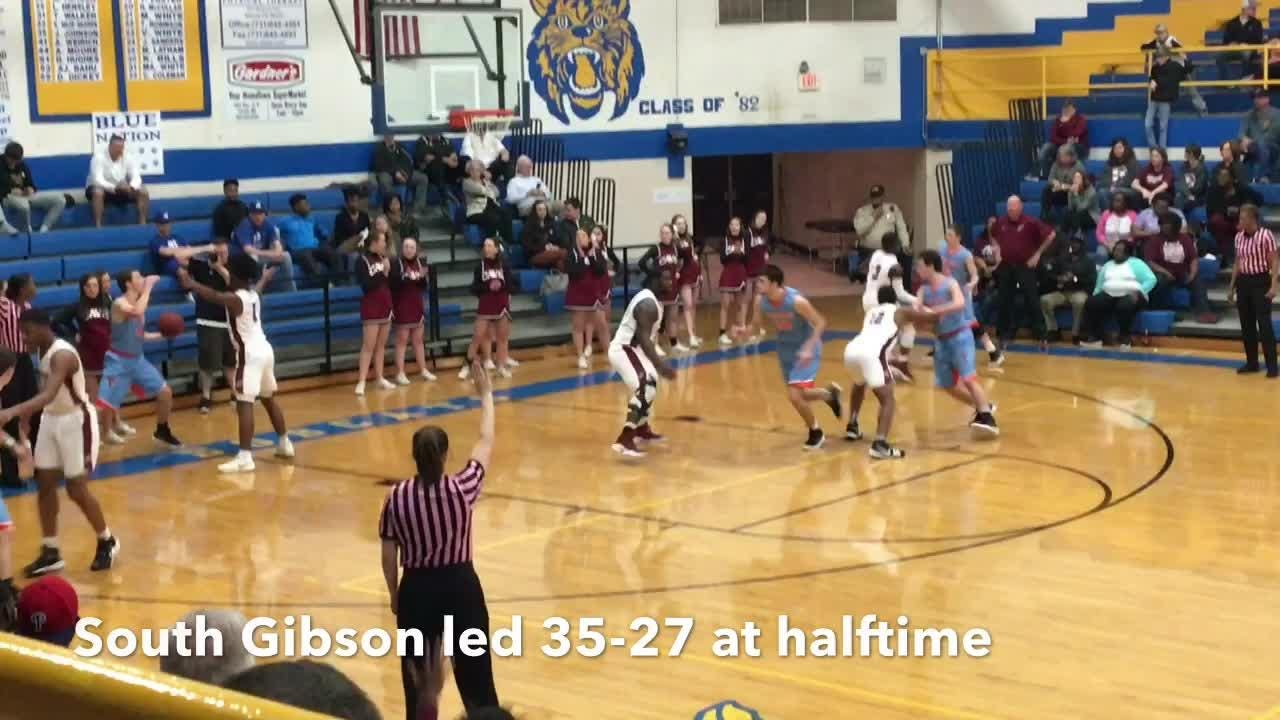 Basketball highlights South Gibson boys 74, Crockett County 59