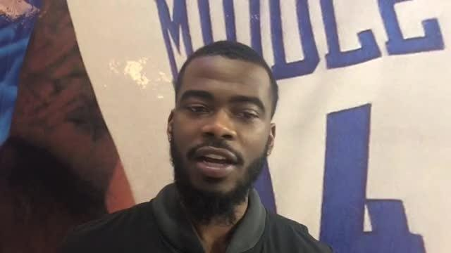 Former MTSU point guard Jacob Ivory had his career derailed by a series of concussions in 2016, but he remains a part of the Blue Raiders' basketball team.