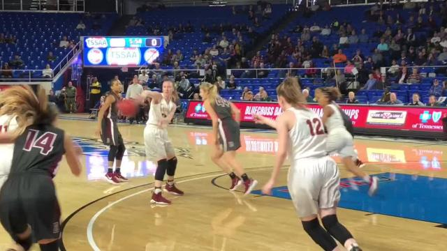 Highlights of Riverdale's 77-59 win over Bearden in the Class AAA girls state semifinals Friday at MTSU.