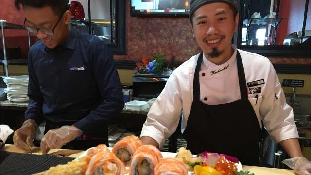 Xiaos' Hibachi and Sushi in Murfreesboro