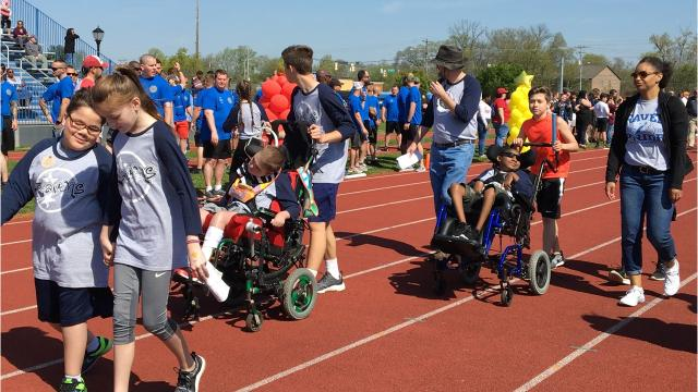 Annual Special Olympics steps off in Murfreesboro on Friday, April 13, 2018.