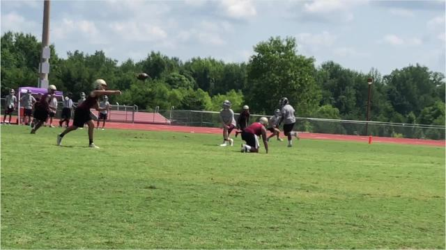 Area highlights at the Warrior Classic 7-on-7 tournament Thursday.