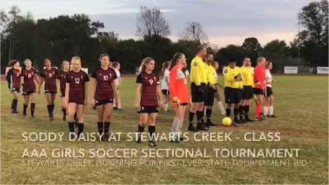 Highlights of Stewarts Creek's 10-1 win over Soddy-Daisy in the Class AAA sectional Saturday.