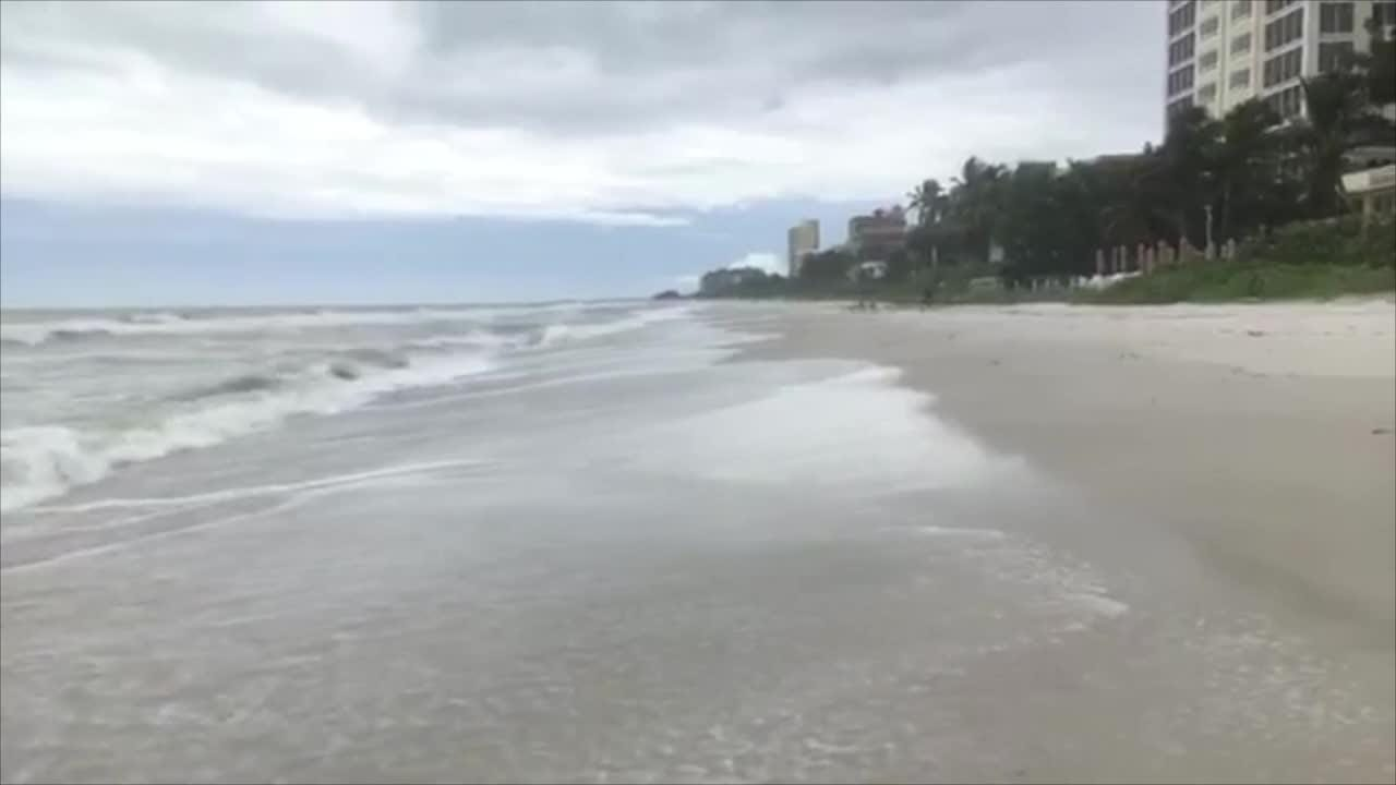 TS Emily: Scenes from Vanderbilt Beach