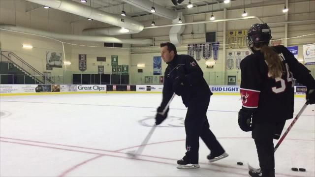 Darryl Belfry trains NHL stars