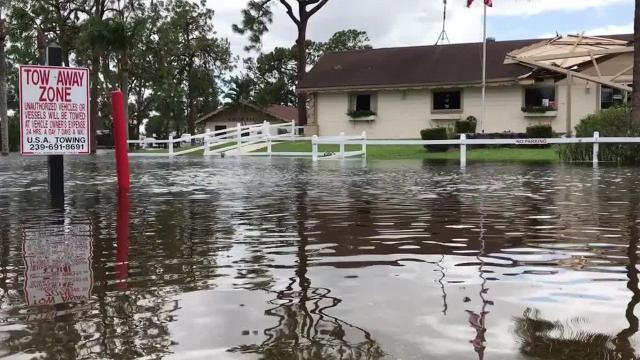 In this 2017 video, storm-shocked Floridians returned to homes as the remnants of Hurricane Irma pushed inland, leaving more than half the state without power and city streets underwater.