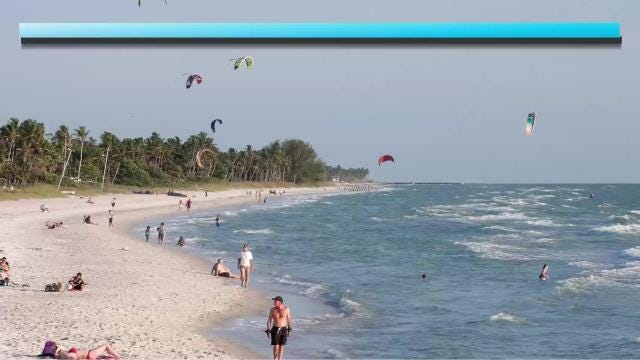 Sunday, Sept. 17 weather forecast for Naples