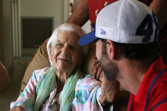 NASCAR's Jimmie Johnson helps Naples family after Irma