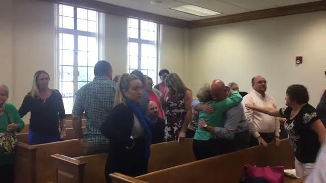 Courtroom reaction as Michael Phillips sentenced to life