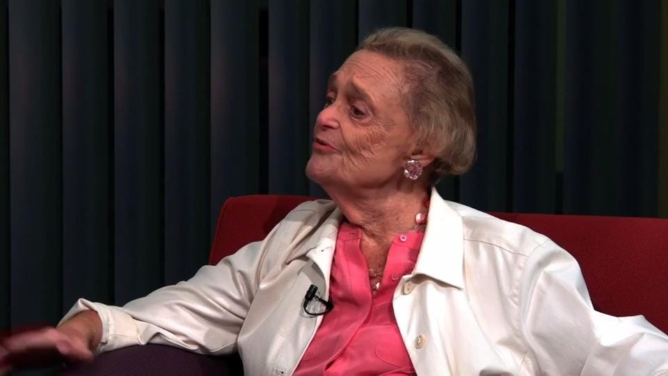 In this archive video from 2015, Naples historian Doris Reynolds talks to former Naples Daily News editor Manny Garcia about a scholarship fund she has created for students to study journalism.