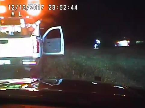 Video: State trooper administers CPR on I-75