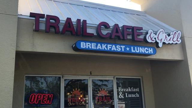 Breakfast spot: Trail Cafe and Grill in Naples, Florida