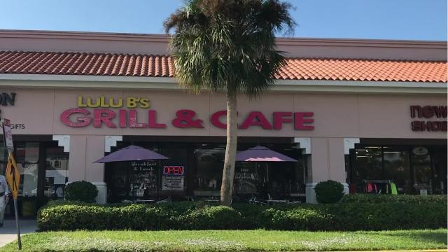 Enjoy cinnamon roll French toast at LuLu B's Grill & Cafe in North Naples, Florida.