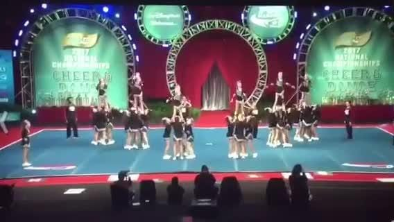 Naples Bears cheer squad brings home national title