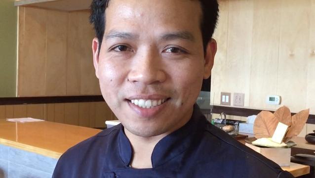 Chef Koko of Namba Ramen & Sushi