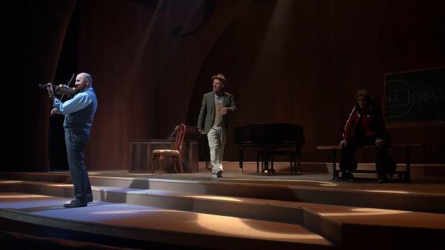 \u0022Charles Ives, Take Me Home\u0022 rehearsal