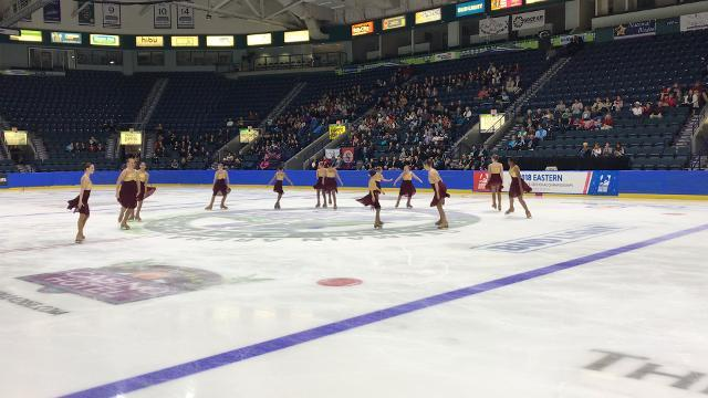 Everblades in Synk compete at Eastern Sectional Championships