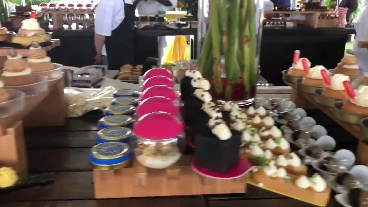 Video: Desserts at Naples Winter Wine Festival