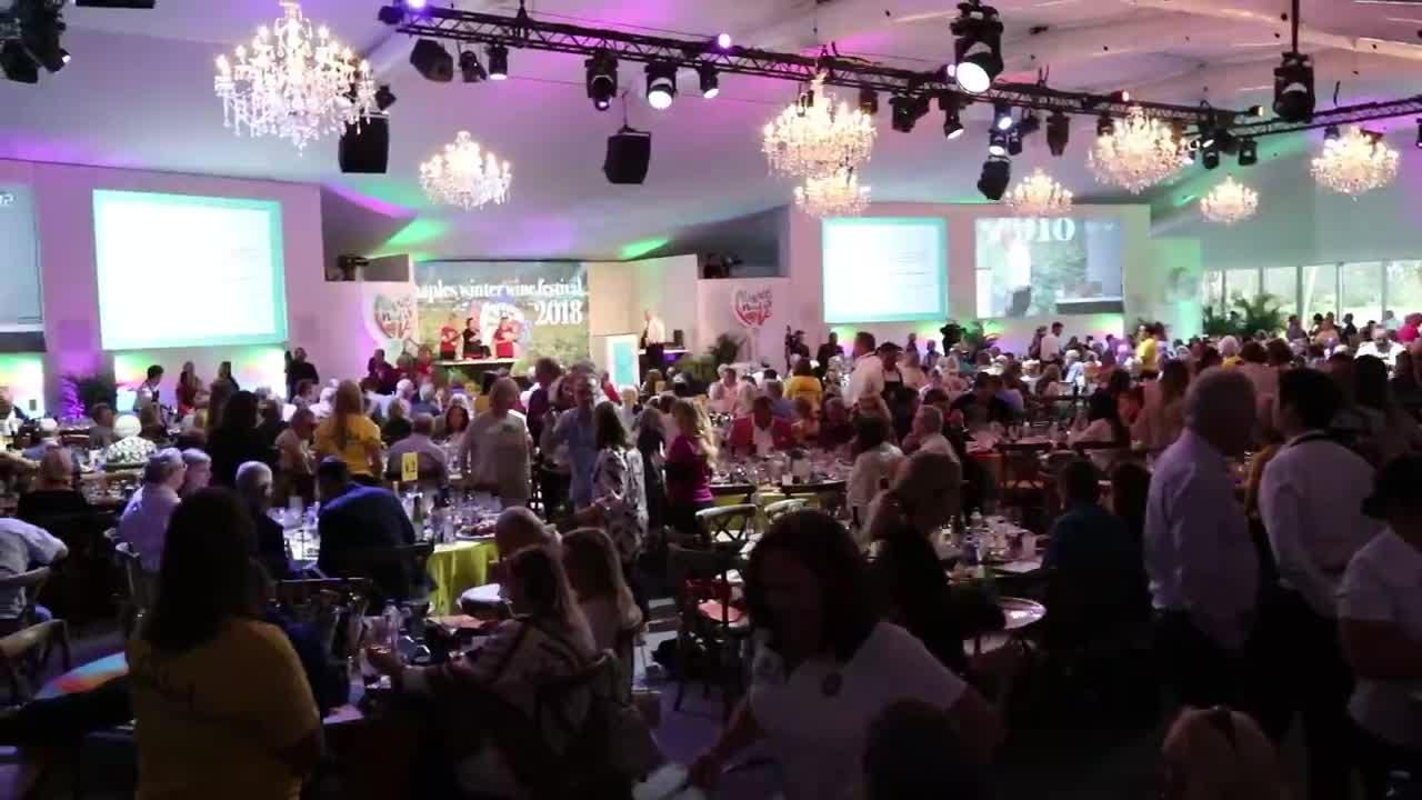 Hundreds came out to the Naples Winter Wine Festival to raise money for the Naples Children & Education Foundation on Saturday, Jan. 27, 2018. Since the auction and festival began in 2001, the festival has raised more than $161 million for children.