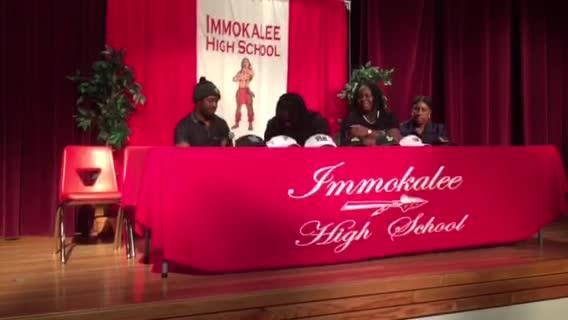 Immokalee RB Abraham Alce announces commitment to Akron