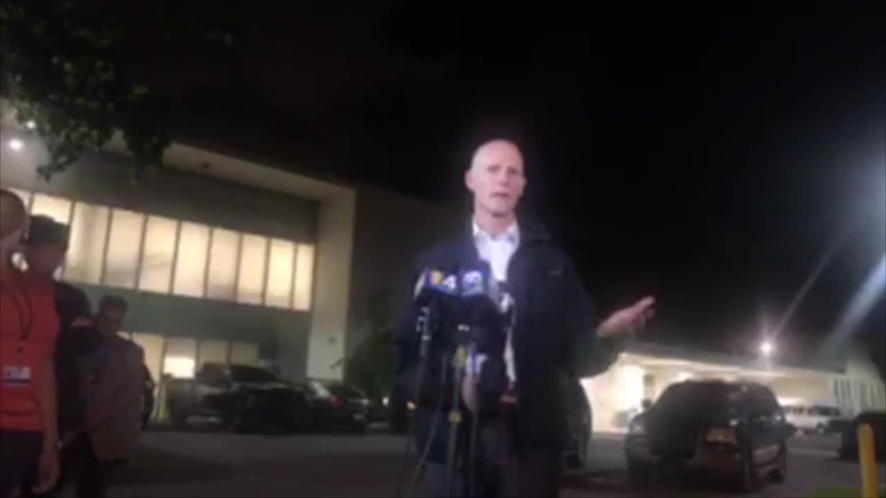 Florida school shooting: Rick Scott gives briefing