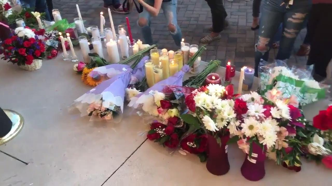 Florida school shooting: Vigil and rememberances