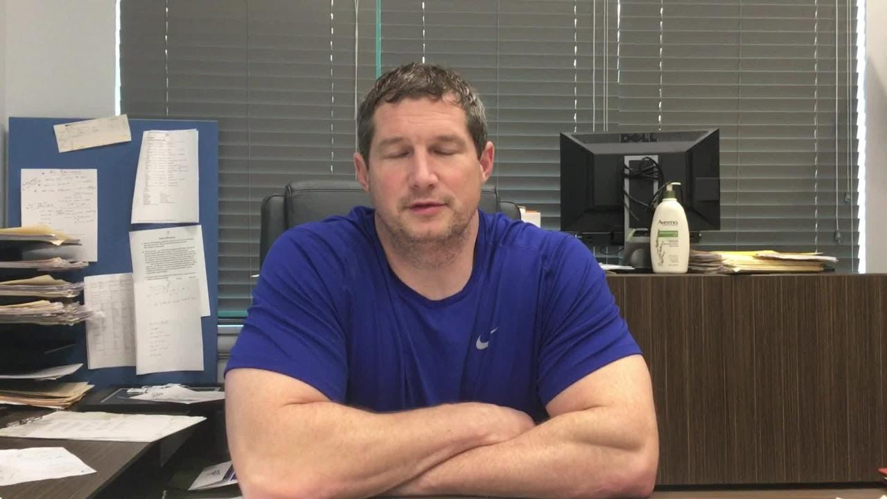 Smesko gives the short answer to why FGCU's basketball teams have done so well in the ASUN. (Video by Dana Caldwell/Naples Daily News)