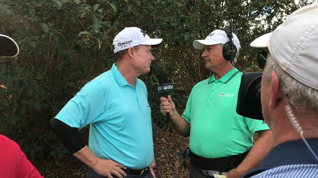 Joe Durant birdied the last two holes to beat Steve Stricker and win the Chubb Classic at TwinEagles Club on Sunday, Feb. 18, 2018 in Naples, Fla.