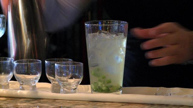 Here's how to make the refreshing chili cucumber margarita found at Agave in North Naples.