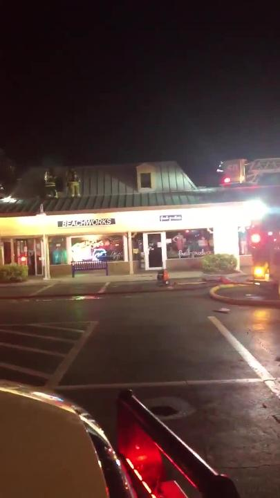 Video: Marco Town Center fire causes extensive damage