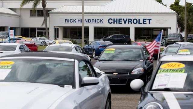 Former sales associates are suing the Hendrick Automotive Group, alleging they were cheated out of commissions at its Chevy dealership in Naples.